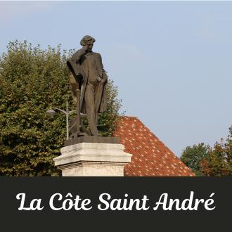 découverte patrimoine la  cote saint andre