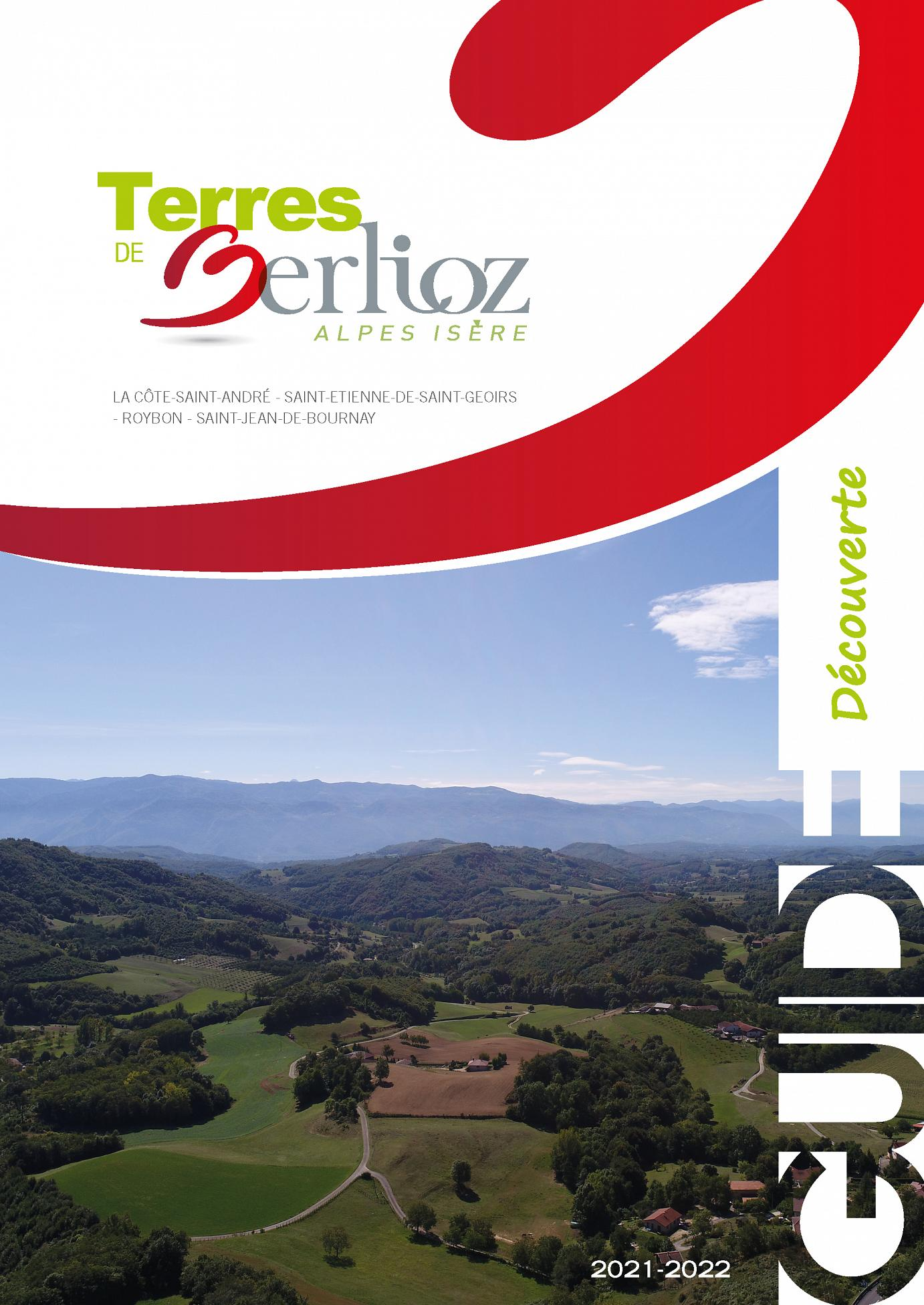 Guide-decouverte-terres de Berlioz couverture 2021-22