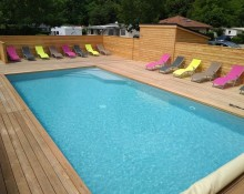 Tentes lodges  safari au camping des Eydoches